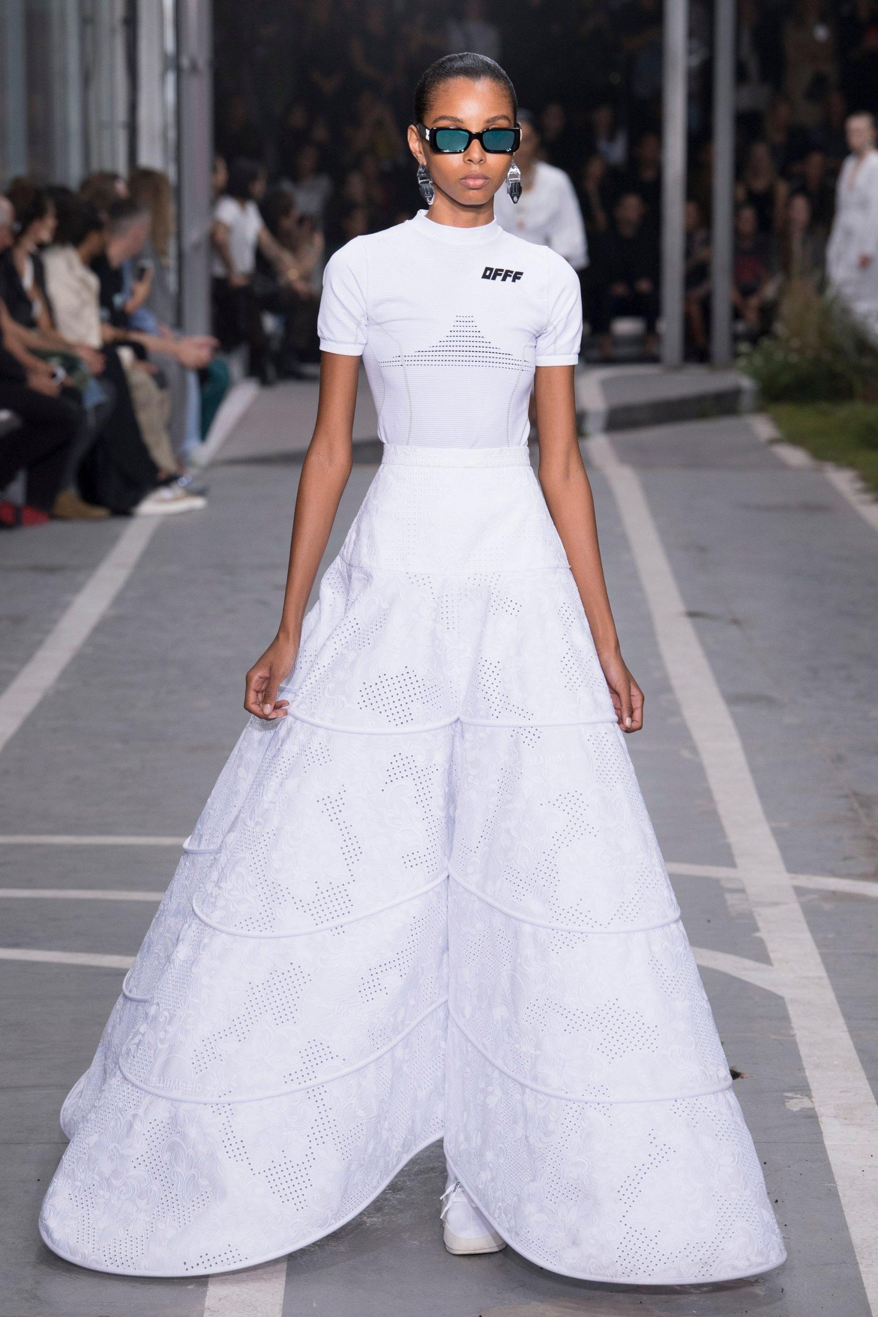 Off-White colección novias, Off-white spring 2019, Virgil Abloh - Wedding Hub - 011
