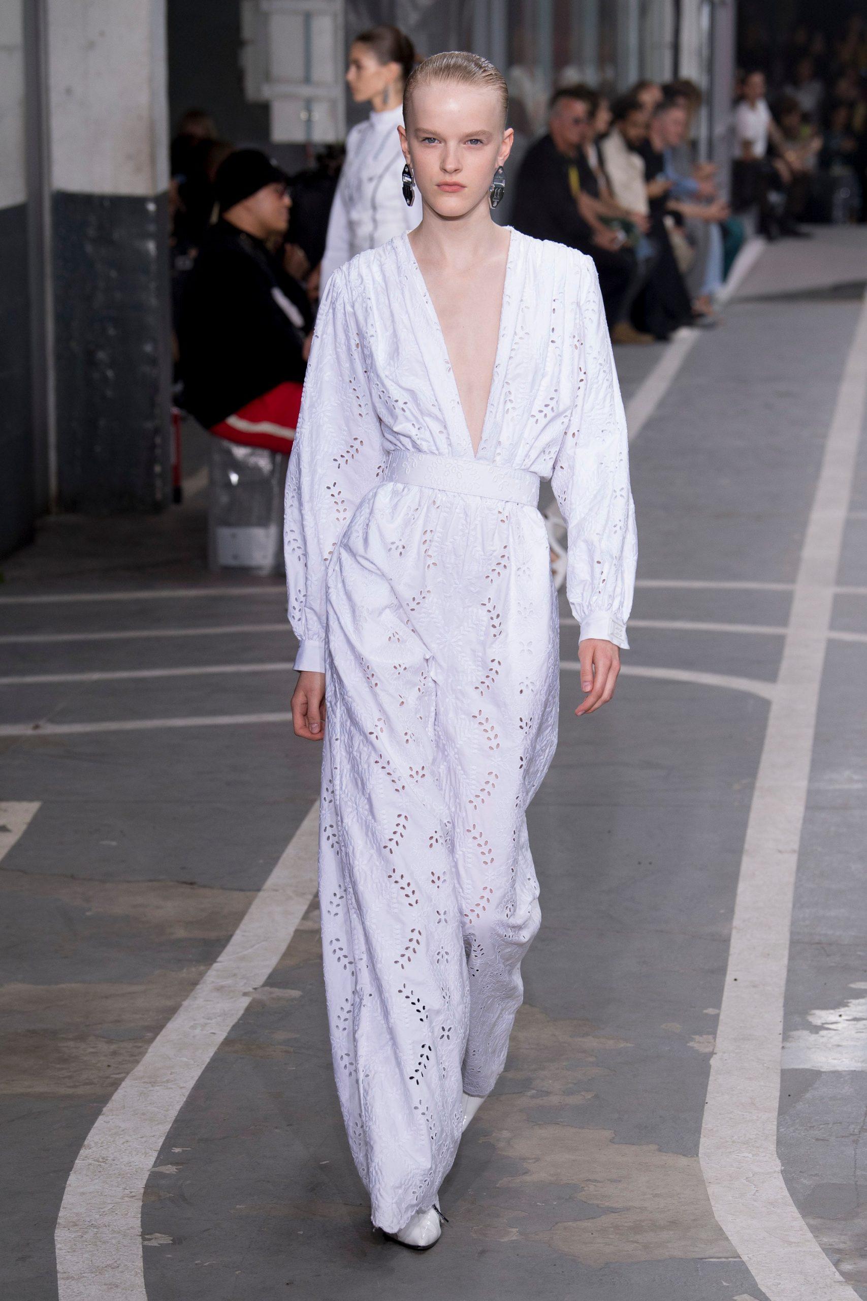 Off-White colección novias, Off-white spring 2019, Virgil Abloh - Wedding Hub - 014