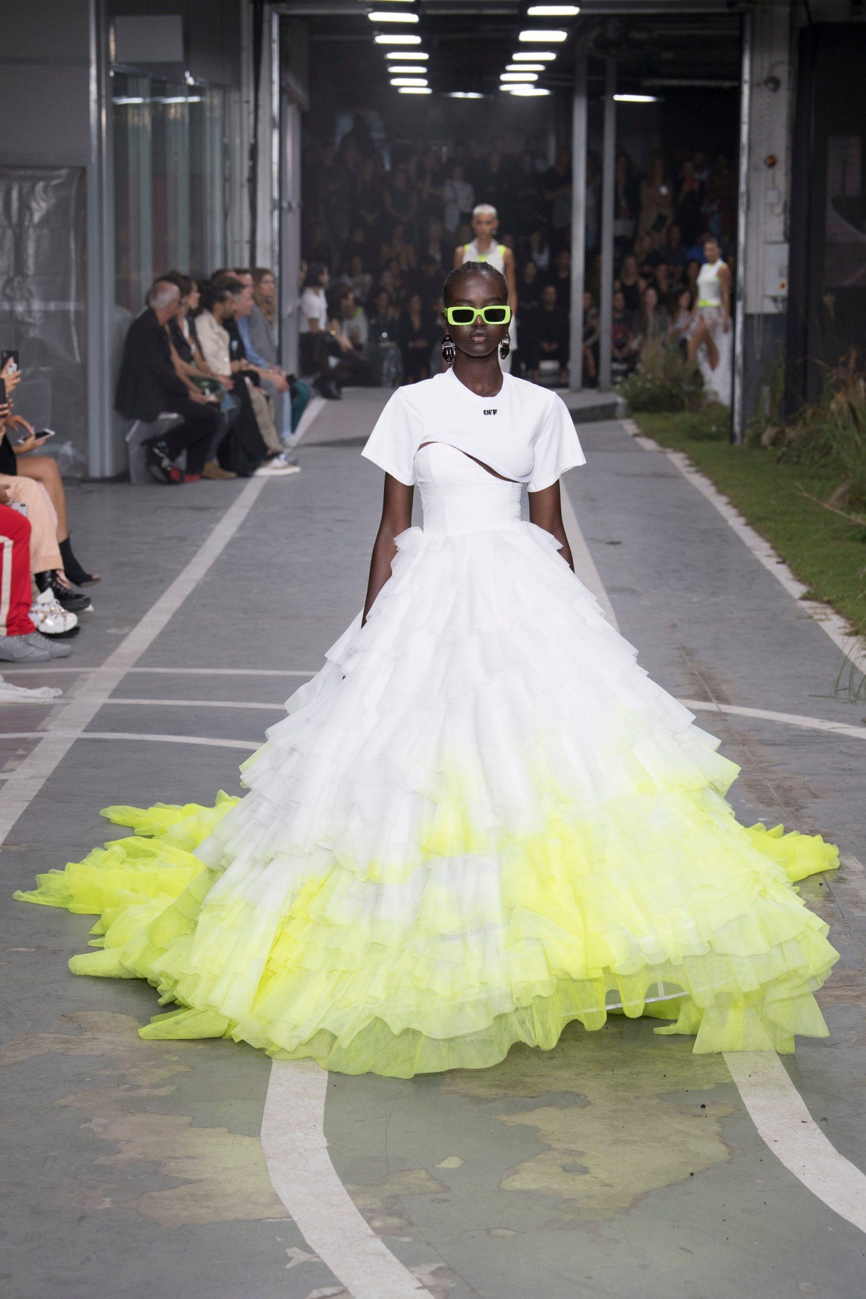 Off-White colección novias, Off-white spring 2019, Virgil Abloh - Wedding Hub - 019