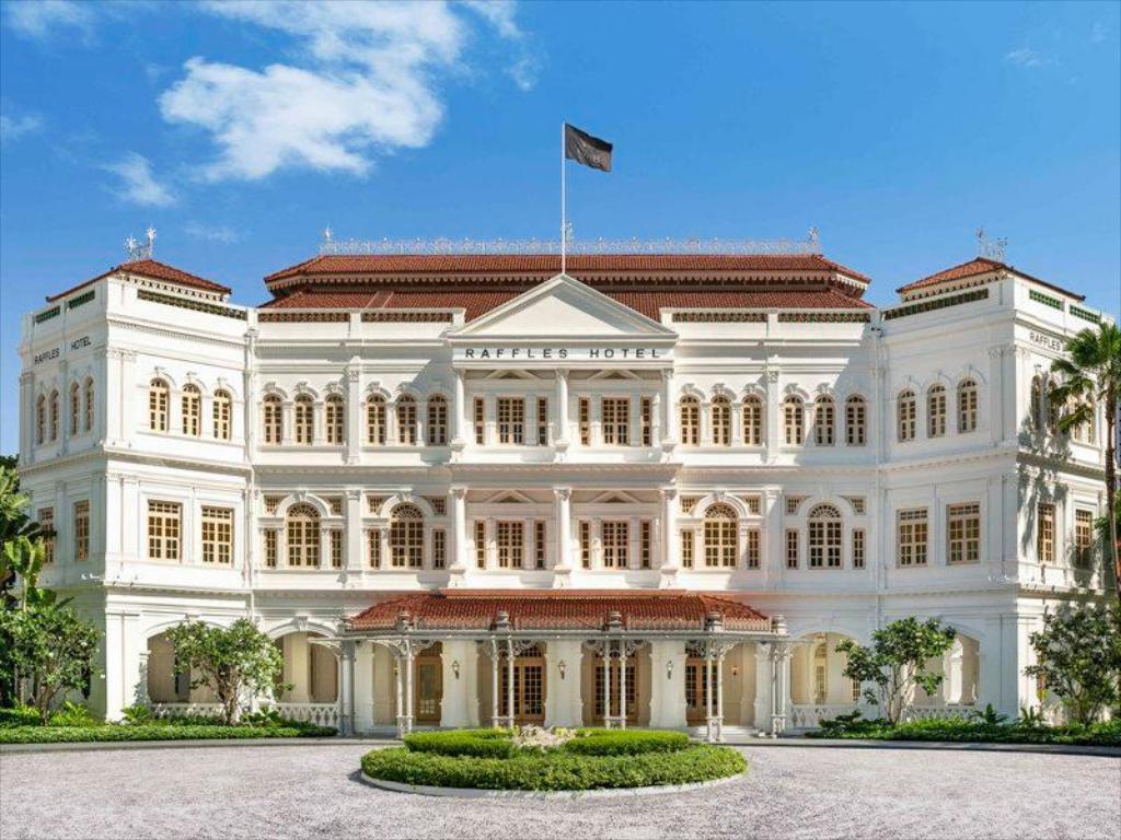 Raffles Hotel Singapur, hoteles para luna de miel en Singapur, luna de miel en Asia - Wedding Hub - 01