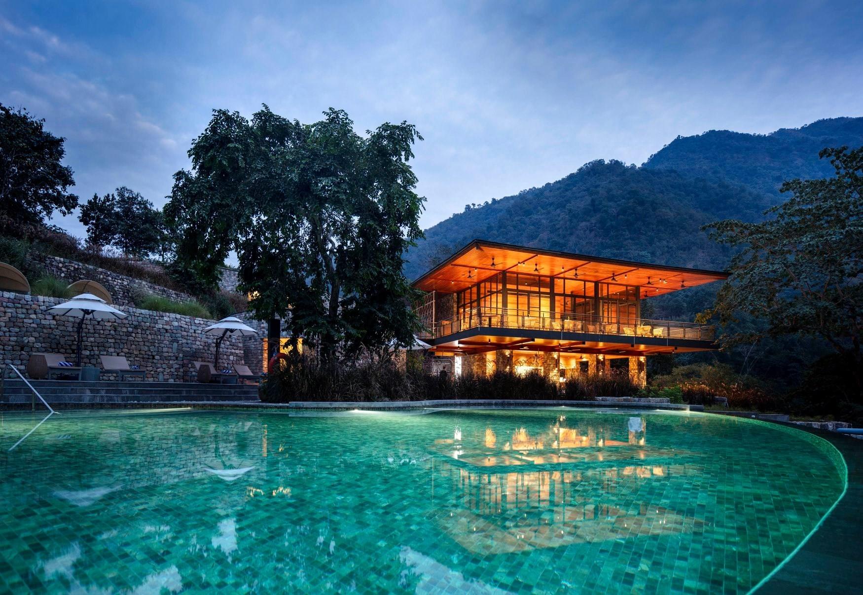 Taj Rishikesh Resort & Spa, Uttarakhand, hoteles de lujo en la india, luna de miel en la india - Wedding Hub - 012