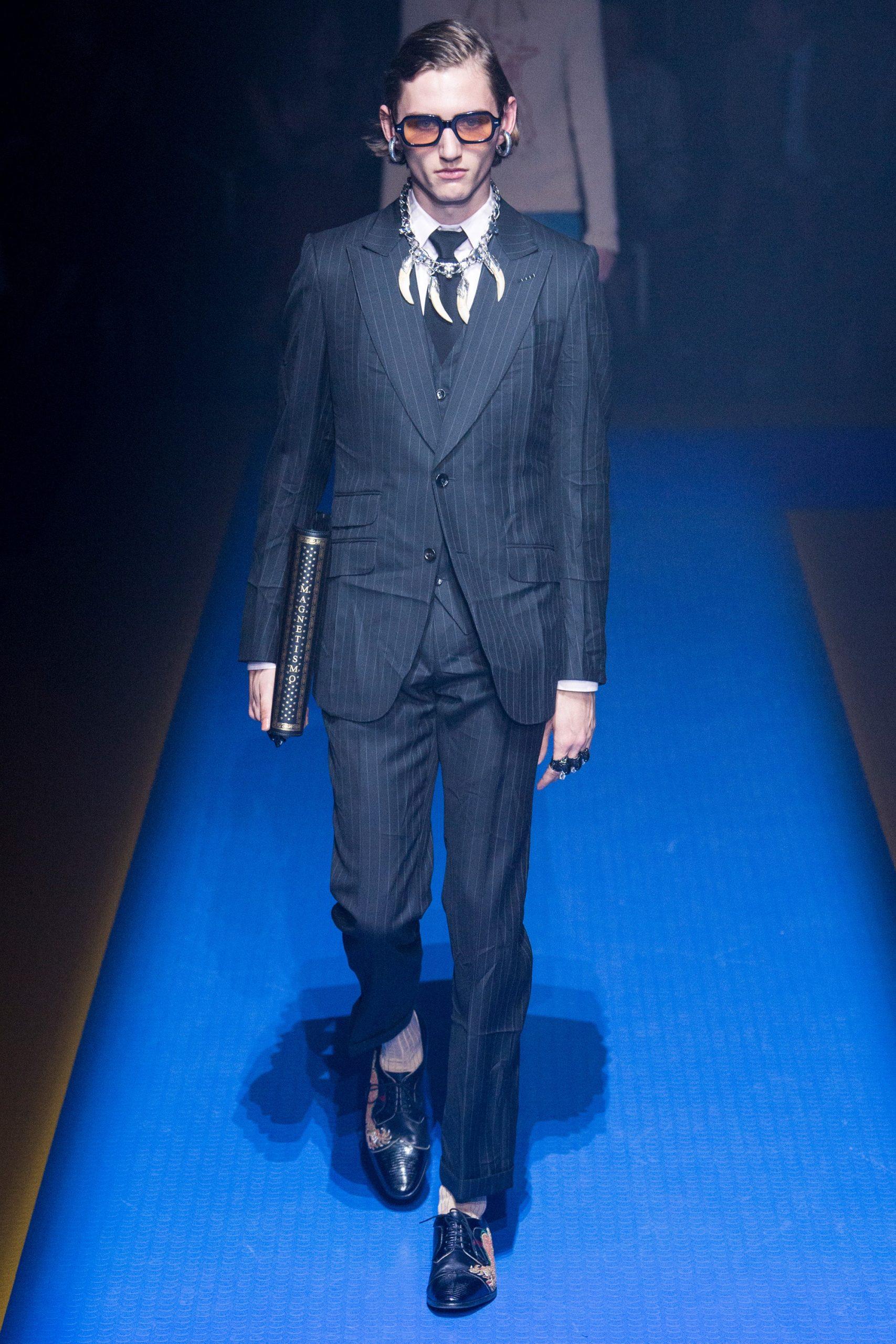 Gucci Menswear, gucci trajes de novio, tendencias para novio Gucci - Wedding Hub - 014
