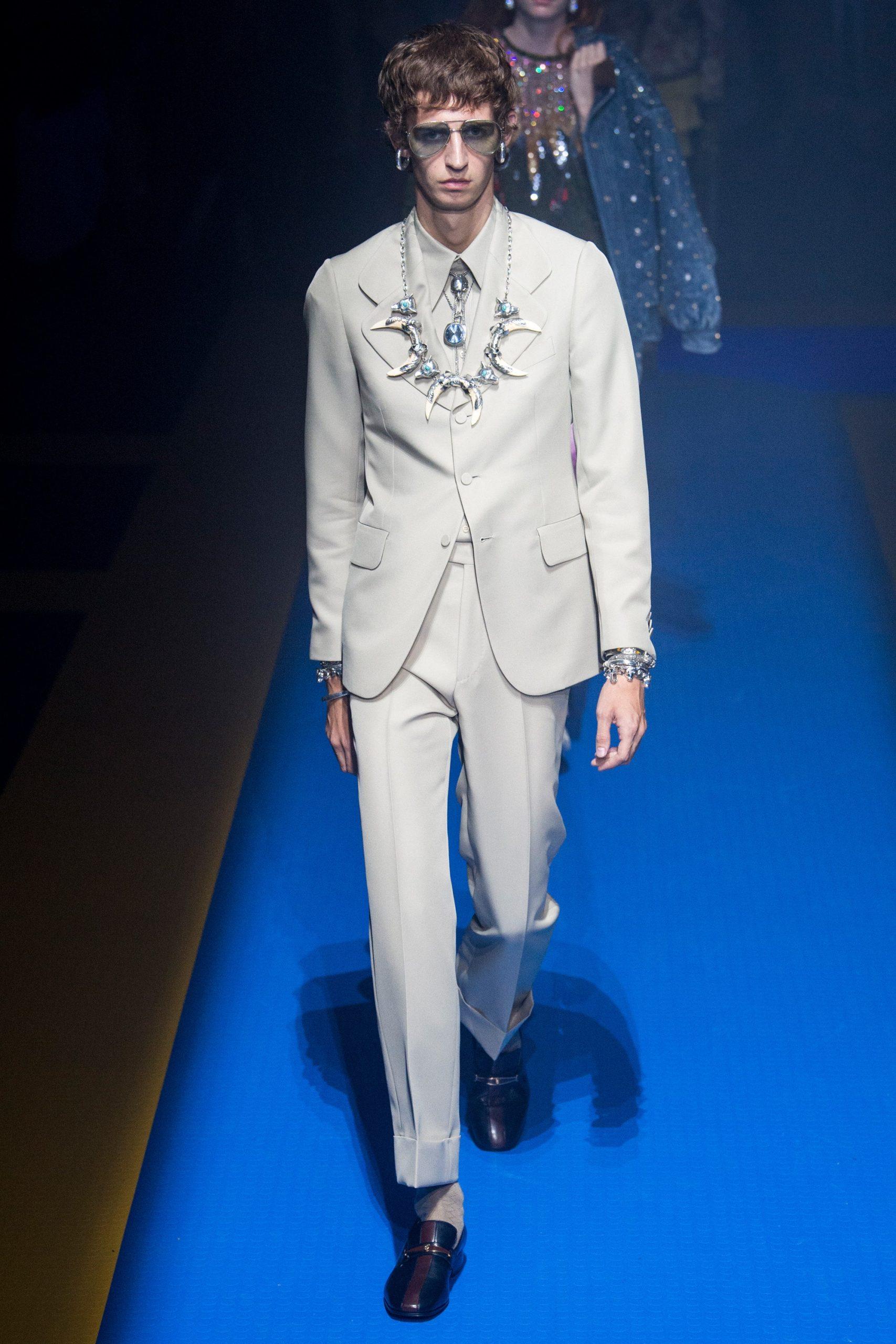Gucci Menswear, gucci trajes de novio, tendencias para novio Gucci - Wedding Hub - 016