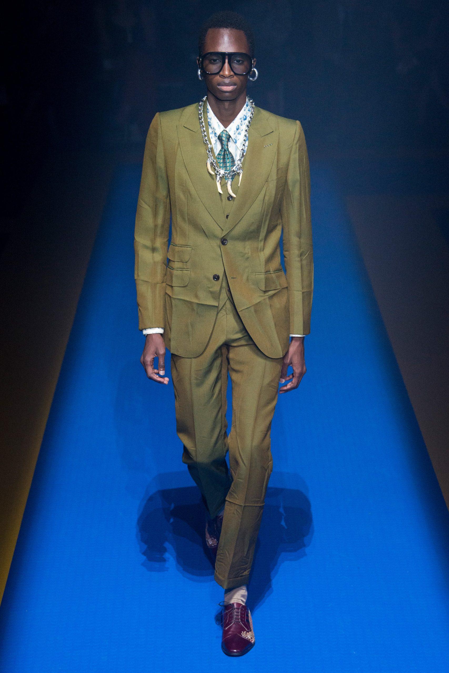 Gucci Menswear, gucci trajes de novio, tendencias para novio Gucci - Wedding Hub - 017