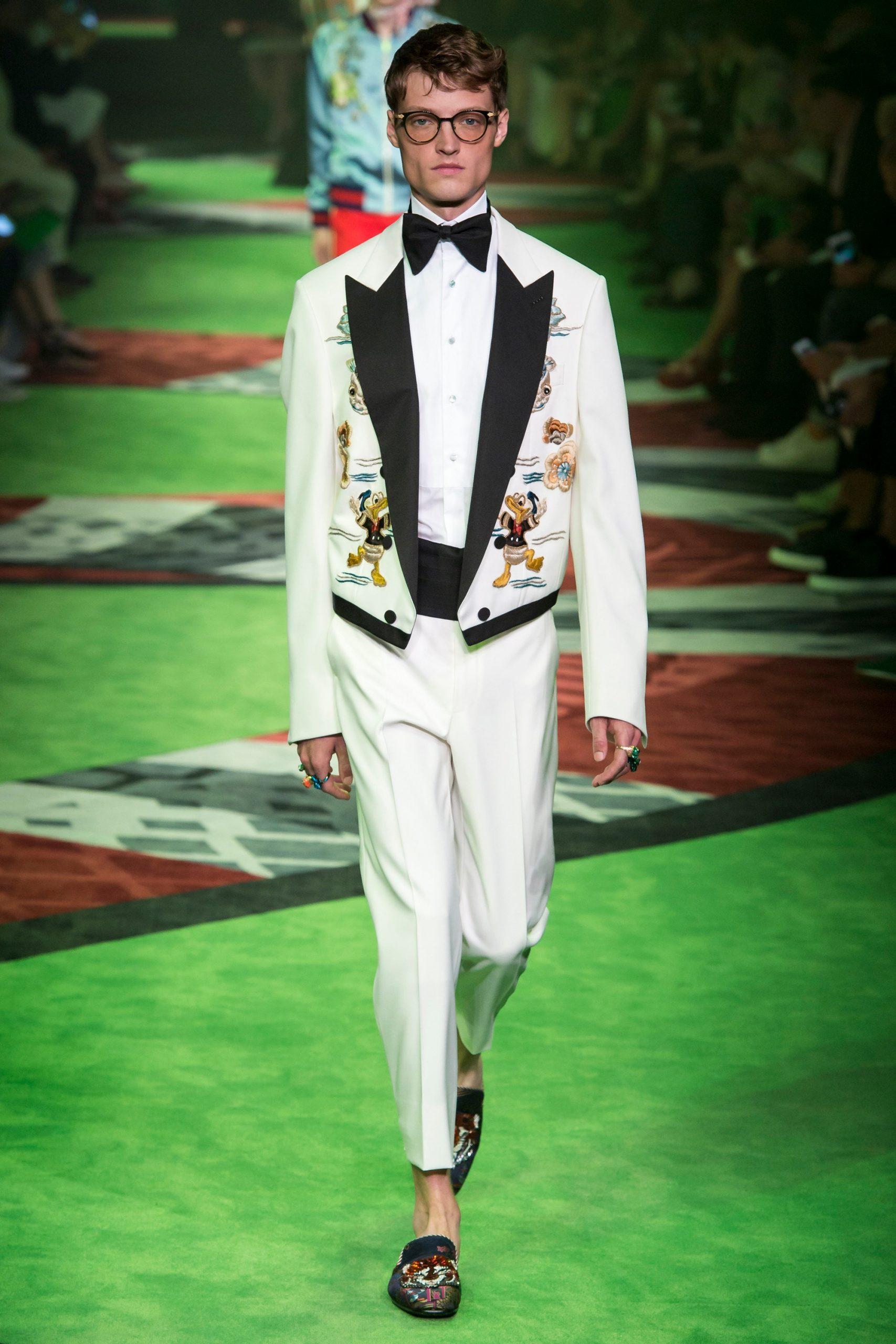 Gucci Menswear, gucci trajes de novio, tendencias para novio Gucci - Wedding Hub - 020