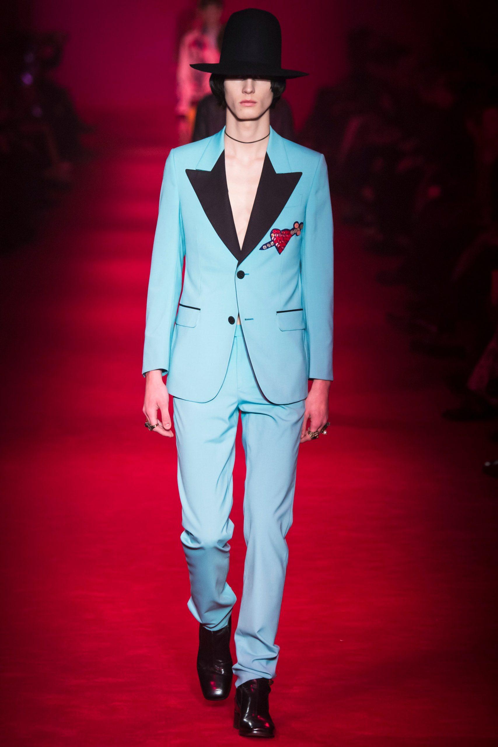 Gucci Menswear, gucci trajes de novio, tendencias para novio Gucci - Wedding Hub - 029