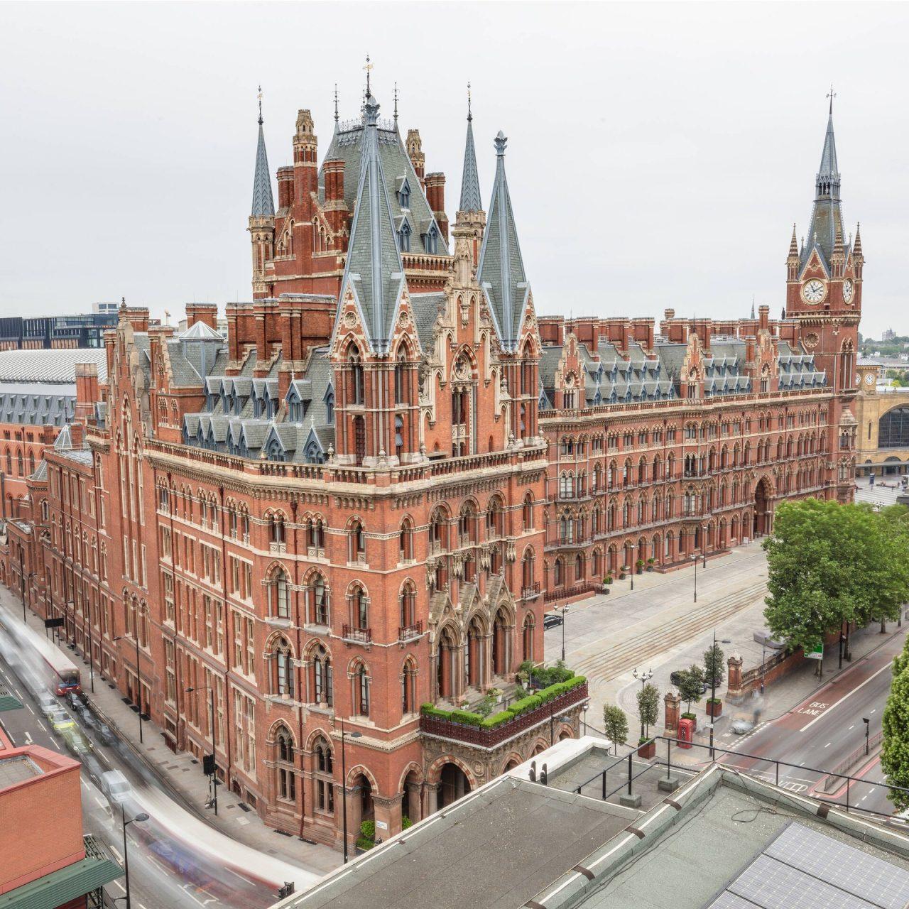 St. Pancras Renaissance Hotel: Una boda como de la realeza en Londres