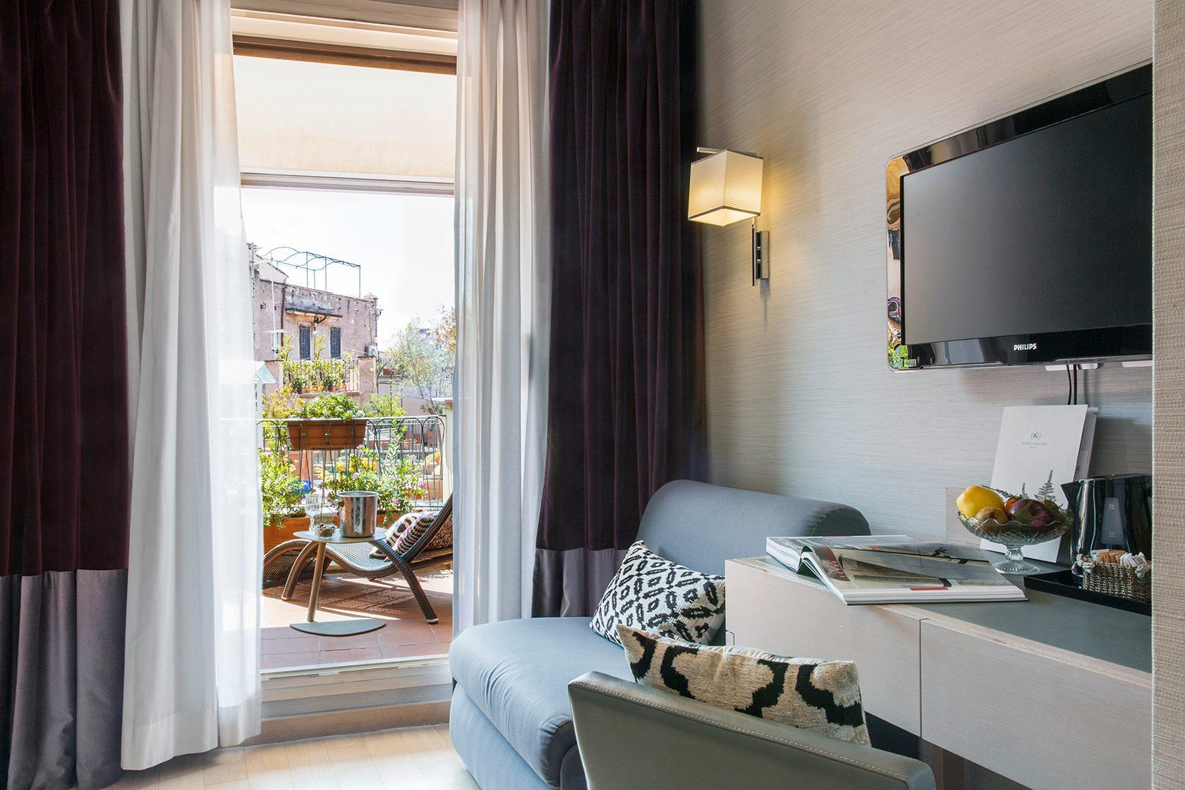 Hotel Adriano Roma, luna de miel en Roma, los mejores hoteles para una luna de miel en Roma - Wedding Hub - 04