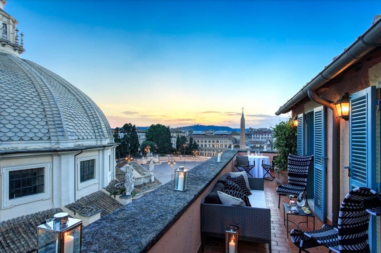 Hotel de Russie Roma, luna de miel en Roma, los mejores hoteles para luna de miel en Roma - Wedding Hub - 08