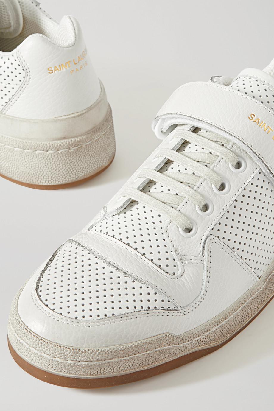 Tenis para novia Net-A-Porter, los tenis más cool para novia - Saint Laurent - Wedding Hub - 04