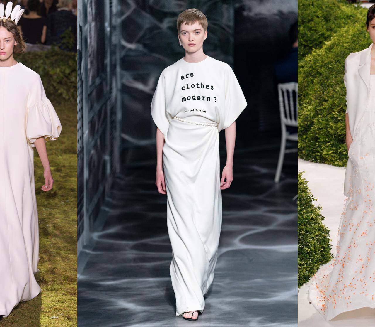 Christian Dior y sus vestidos de novia más impactantes de alta costura