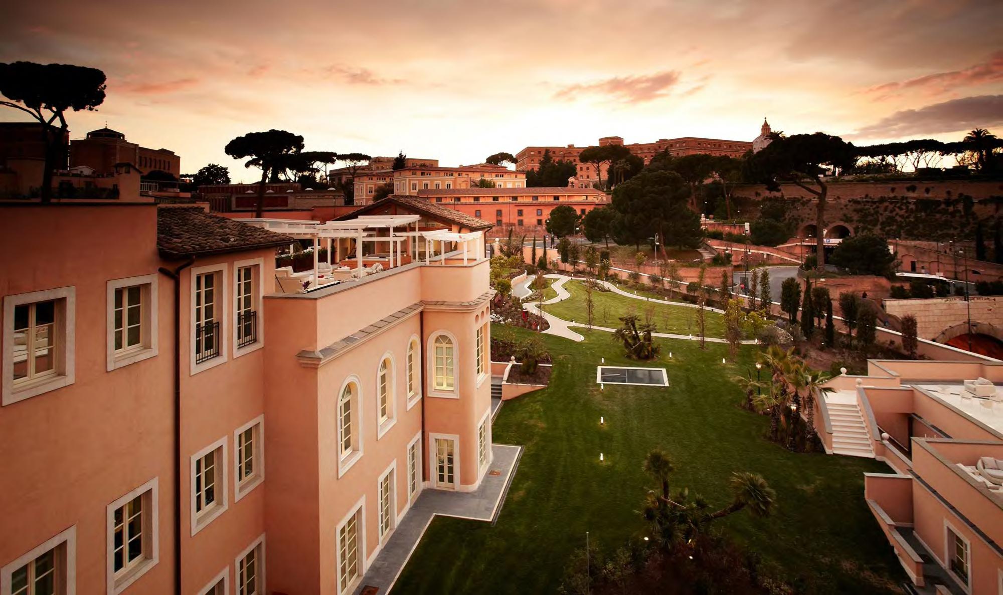 Villa Agrippina Gran Meliá, luna de miel en Roma, los mejores hoteles para luna de miel en Roma - Wedding Hub - 01
