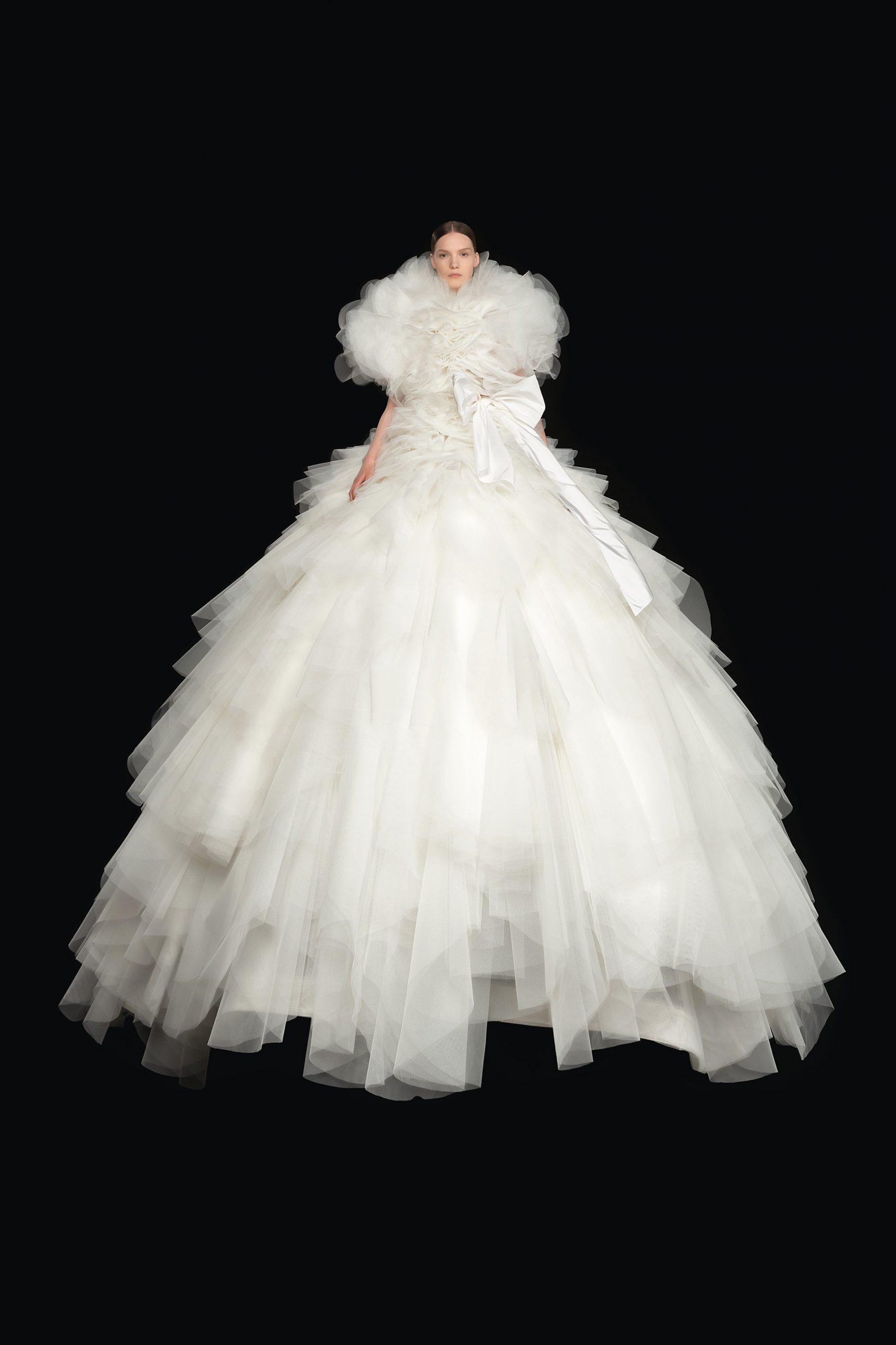 Valentino alta costura otoño 2020, valentino vestidos de novia - Wedding Hub - 015