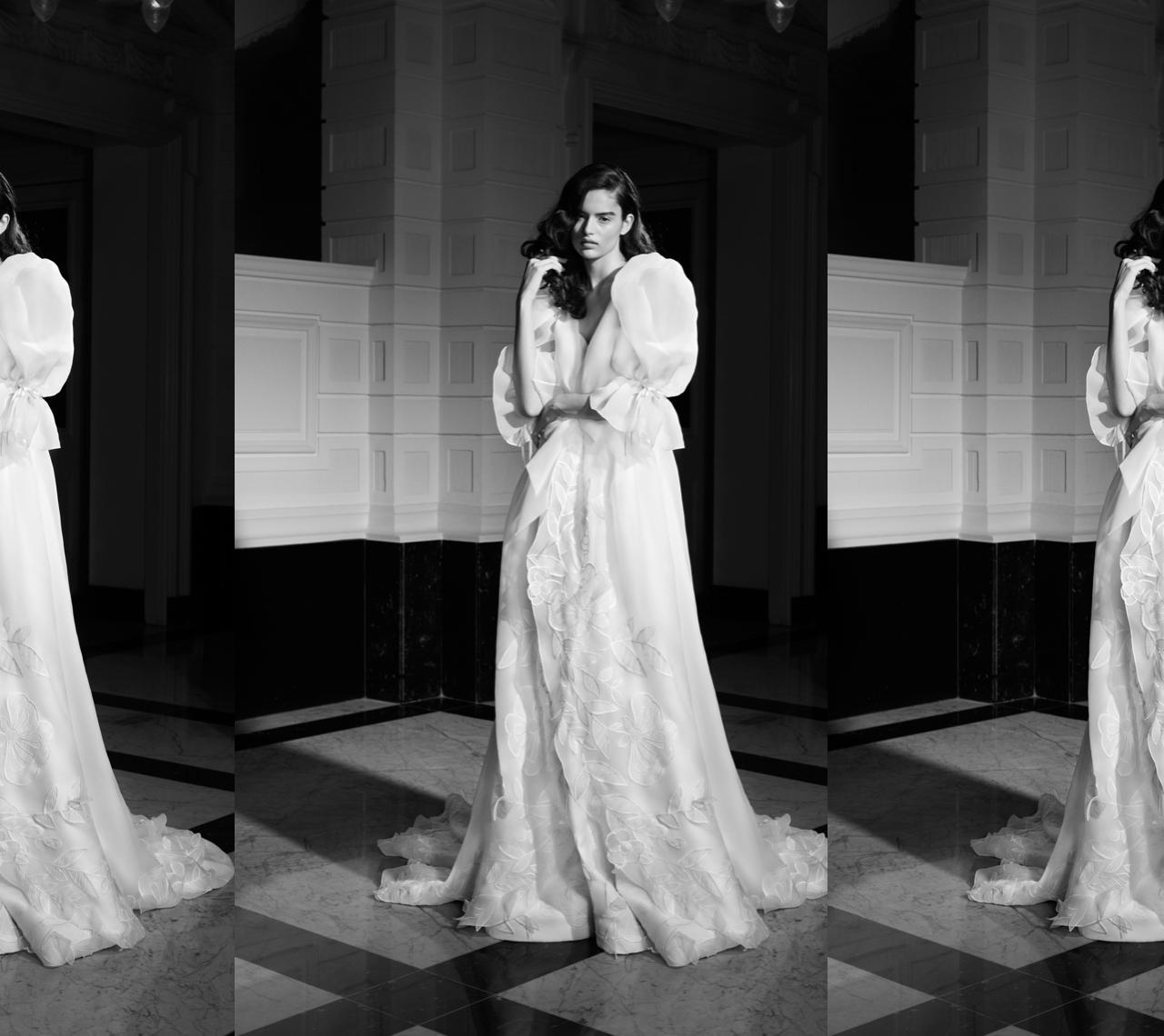 Vestidos de novia Viktor & Rolf 2022: Drama, glamour y arte a partes iguales