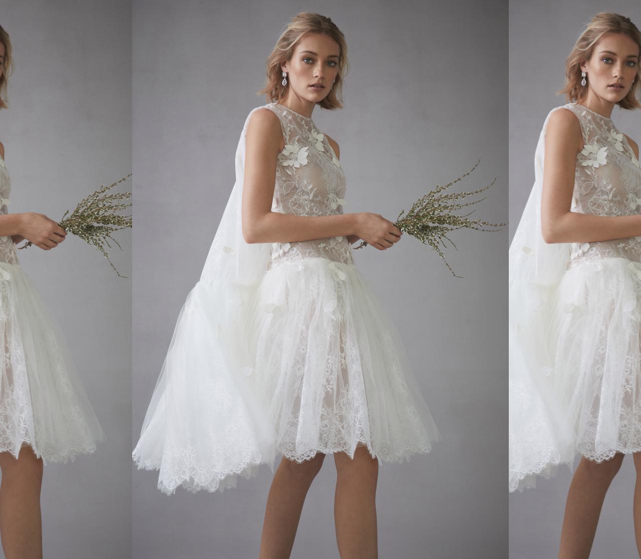 Vestidos de novia Oscar de la Renta 2022: Una fantasía de flores