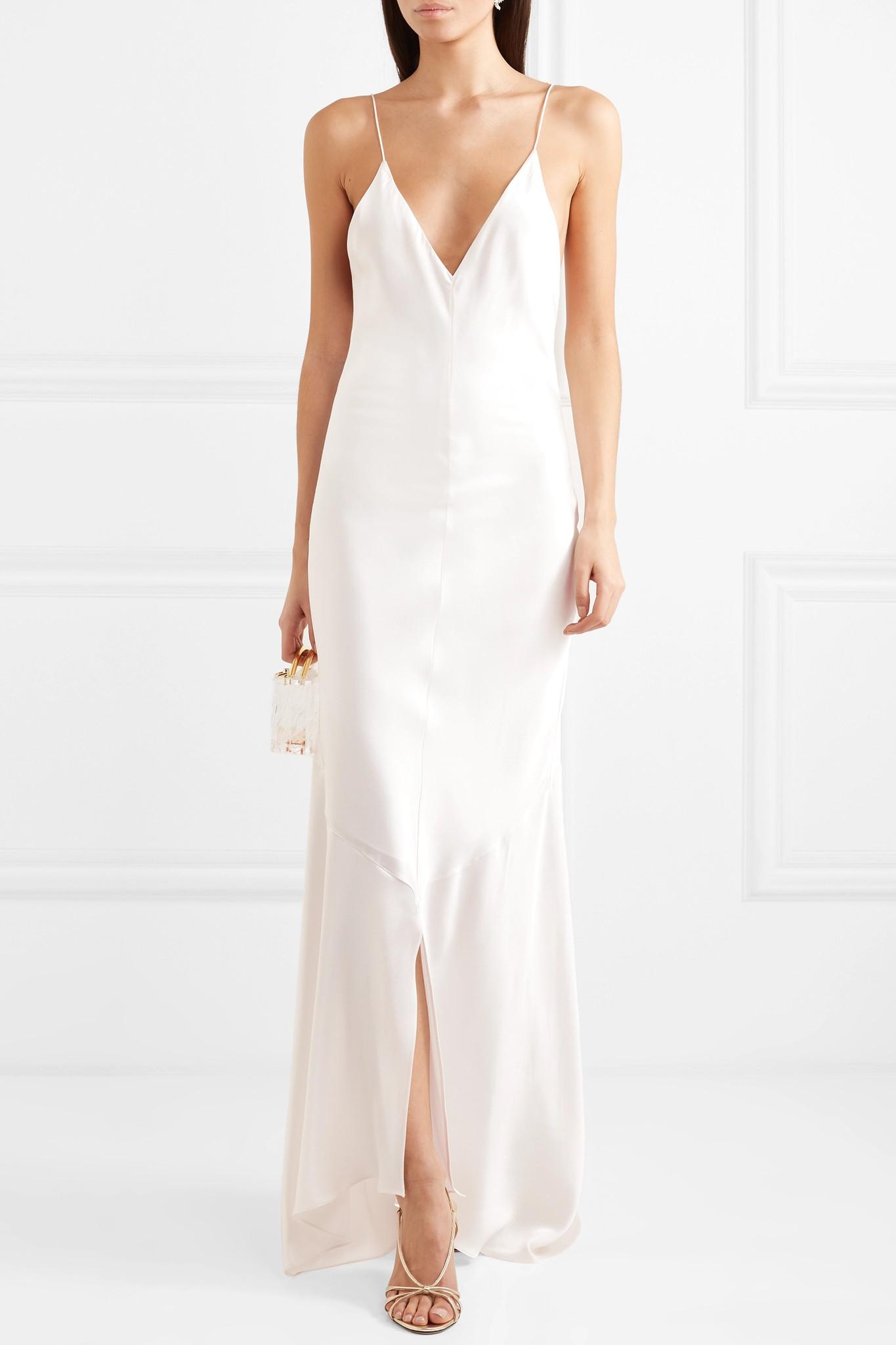 Vestido de novia lencero 2021, vestidos de novia 2021, tendencias para novias 2021, las tendencias en vestidos de novia 2021 - Michael Lo Sordo - Wedding Hub - 01