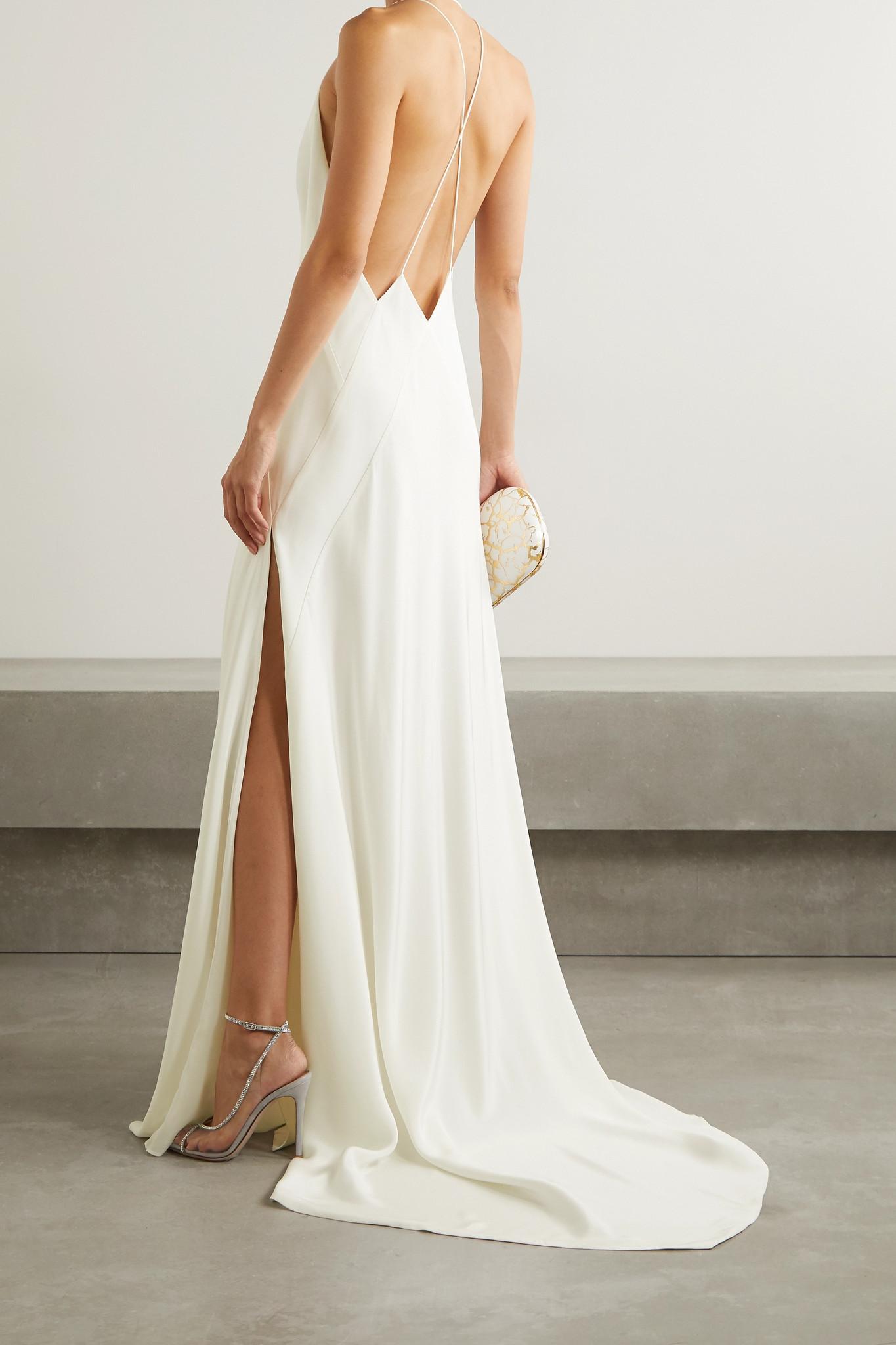 Vestido de novia lencero 2021, vestidos de novia 2021, tendencias para novias 2021, las tendencias en vestidos de novia 2021 - Michael Lo Sordo - Wedding Hub - 05