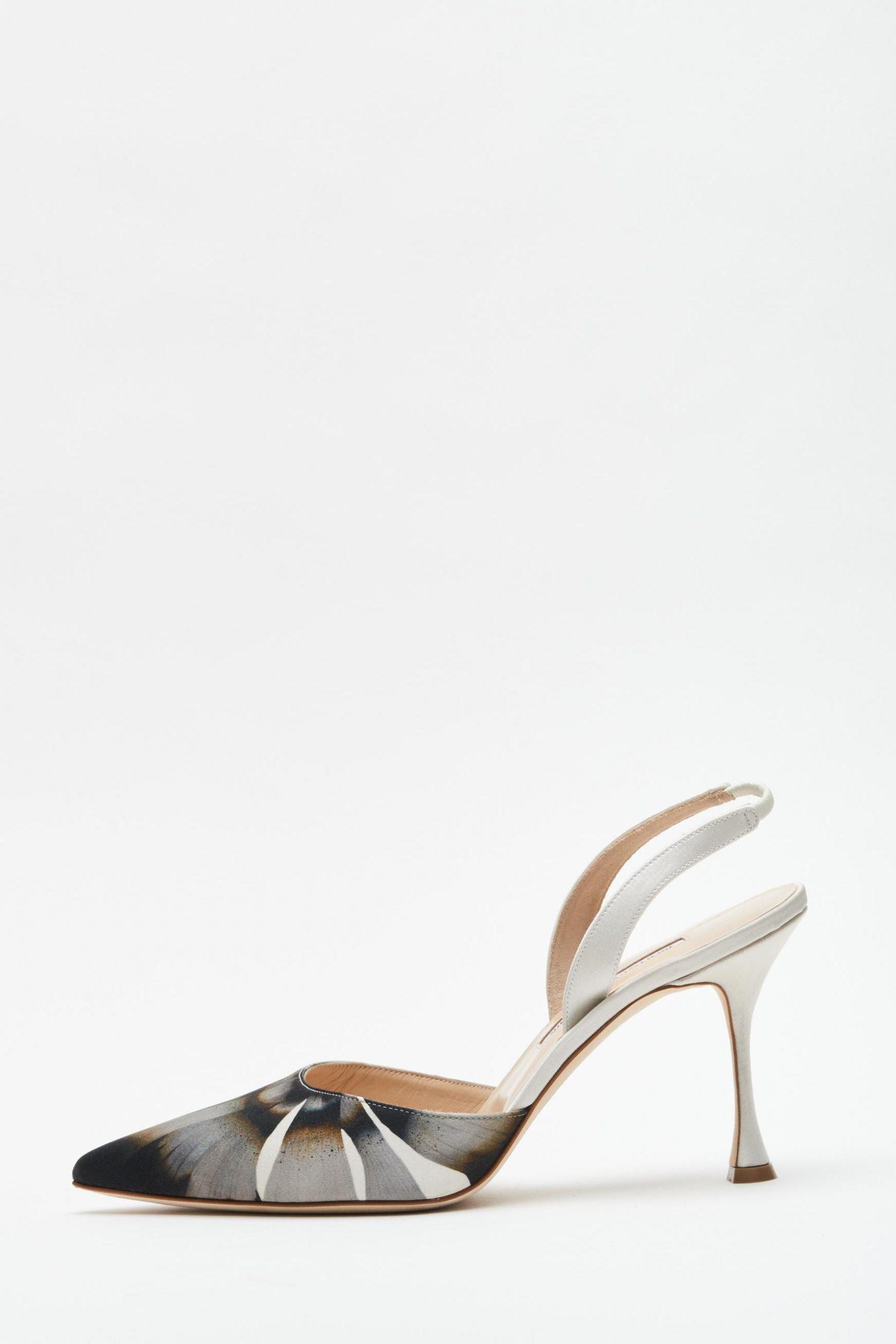 Zapatos de novia Manolo Blahnik para Danielle Frankel, vestidos de novia Danielle Frankel - Wedding Hub - 04
