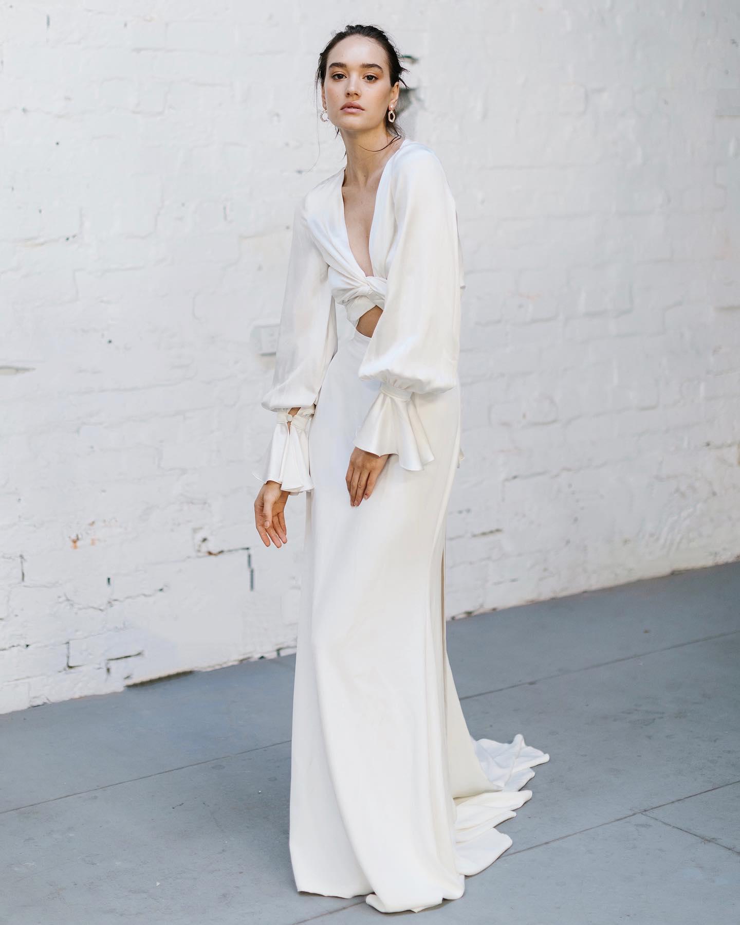 Prea James Bridal, vestidos de novia Prea James, vestidos de novia minimalistas, tendencias en vestidos de novia 2022 - Wedding Hub - 023
