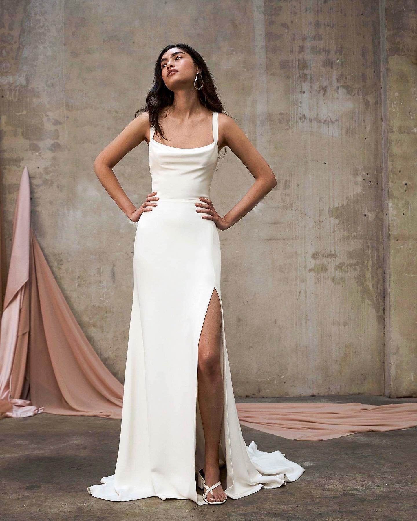 Prea James Bridal, vestidos de novia Prea James, vestidos de novia minimalistas, tendencias en vestidos de novia 2022 - Wedding Hub - 05
