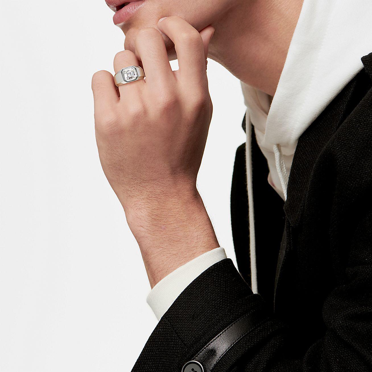 Tiffany & Co anillo de compromiso para hombre, anillos de compromiso tiffany & co - Wedding Hub - 07