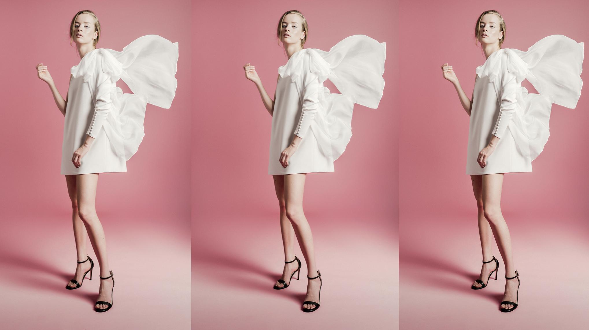The Little White Dress: Más de 30 vestidos de novia mini que son tendencia top