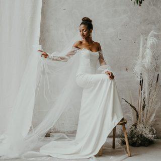 Timeless Spirit: La colección de Adriana Madrid 2021 y las top trends en vestidos de novia