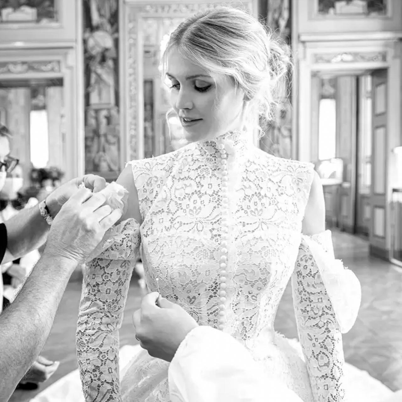 Los 5 vestidos de novia Dolce & Gabbana de Kitty Spencer, sobrina de Lady Di