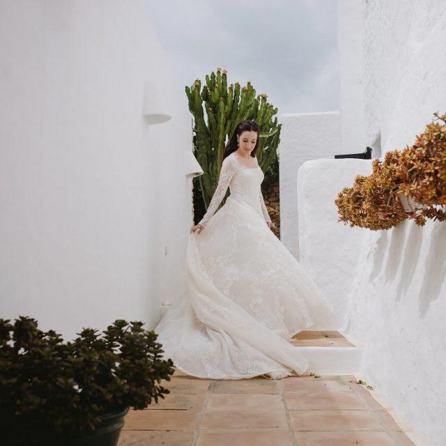 Paola Fendi y sus dos vestidos de novia: Conoce los detalles de ambos looks