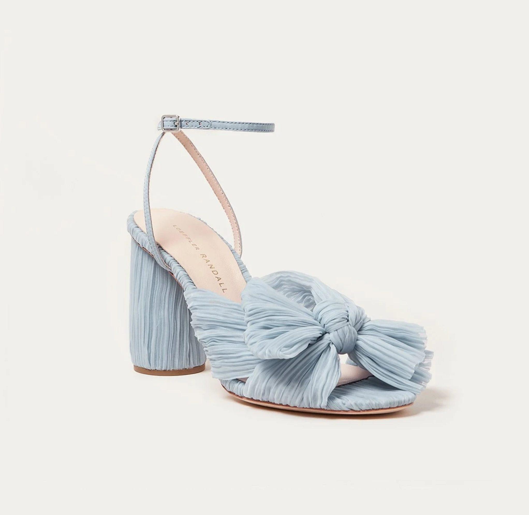 Zapatos de novia de Sophie Turner - Loeffler Randall - Wedding Hub - 09