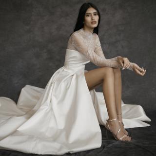 Las 9 tendencias top en vestidos de novia 2022 según The Bridal Council