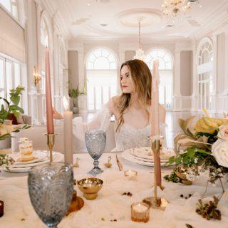 Fluent in Poise: Wedding Editorial