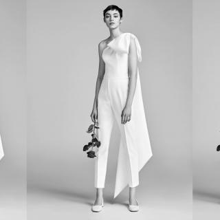 Los 60 looks de novia con pantalones más cool: #BridalInspo para tu boda
