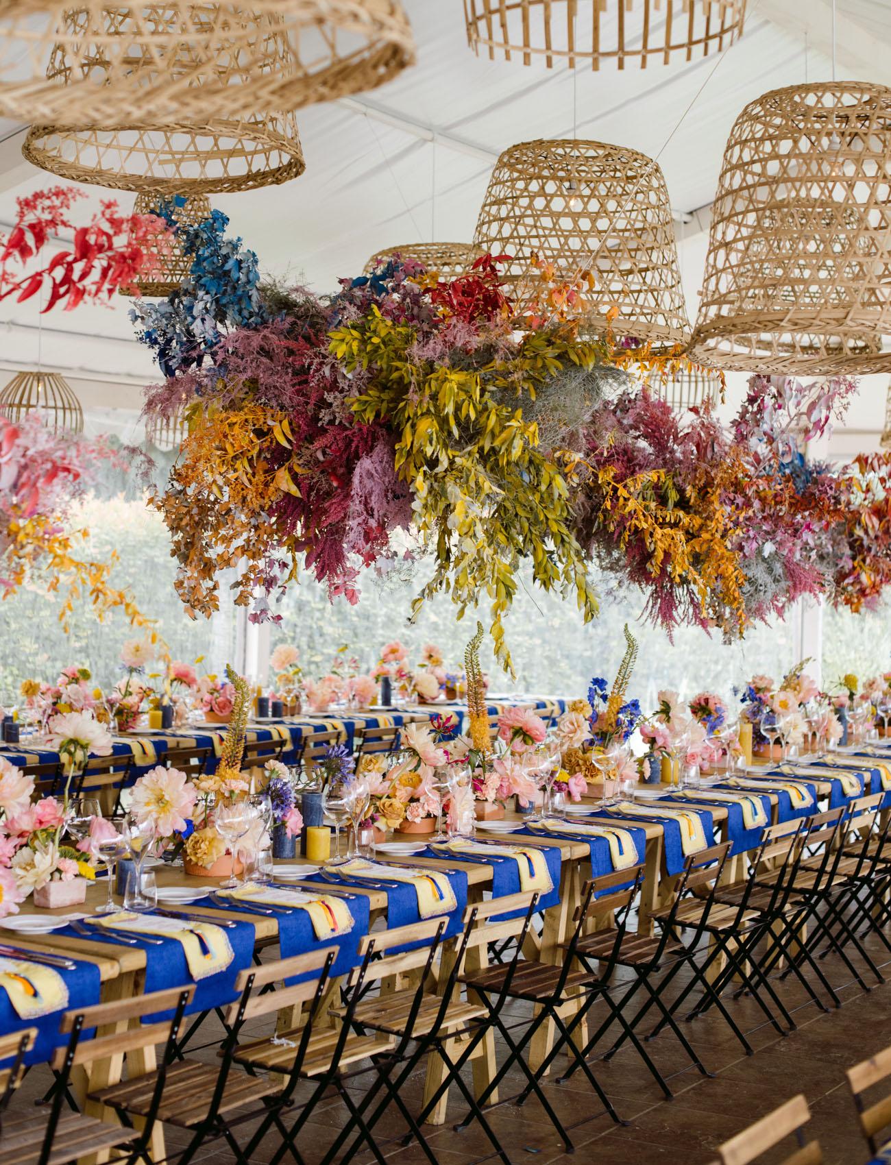 Instalaciones originales para la decoración de tu boda
