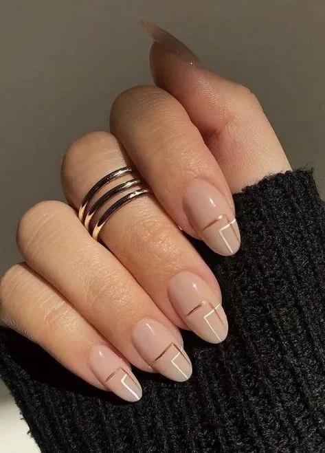 Tendencias en manicure para novias 2021 2022 - - Wedding Hub - 020