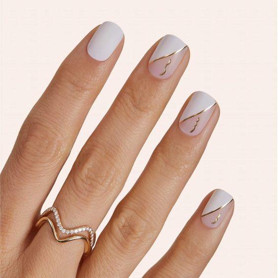 Tendencias en manicure para novias 2021 2022 - - Wedding Hub - 024