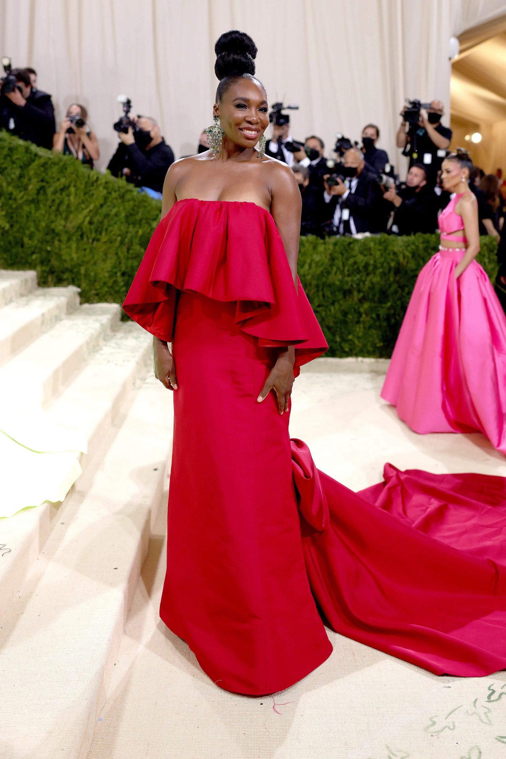 Venus Williams, MET GALA 2021, Los vestidos más cool y originales de la MET GALA 2021 - Wedding Hub - 01