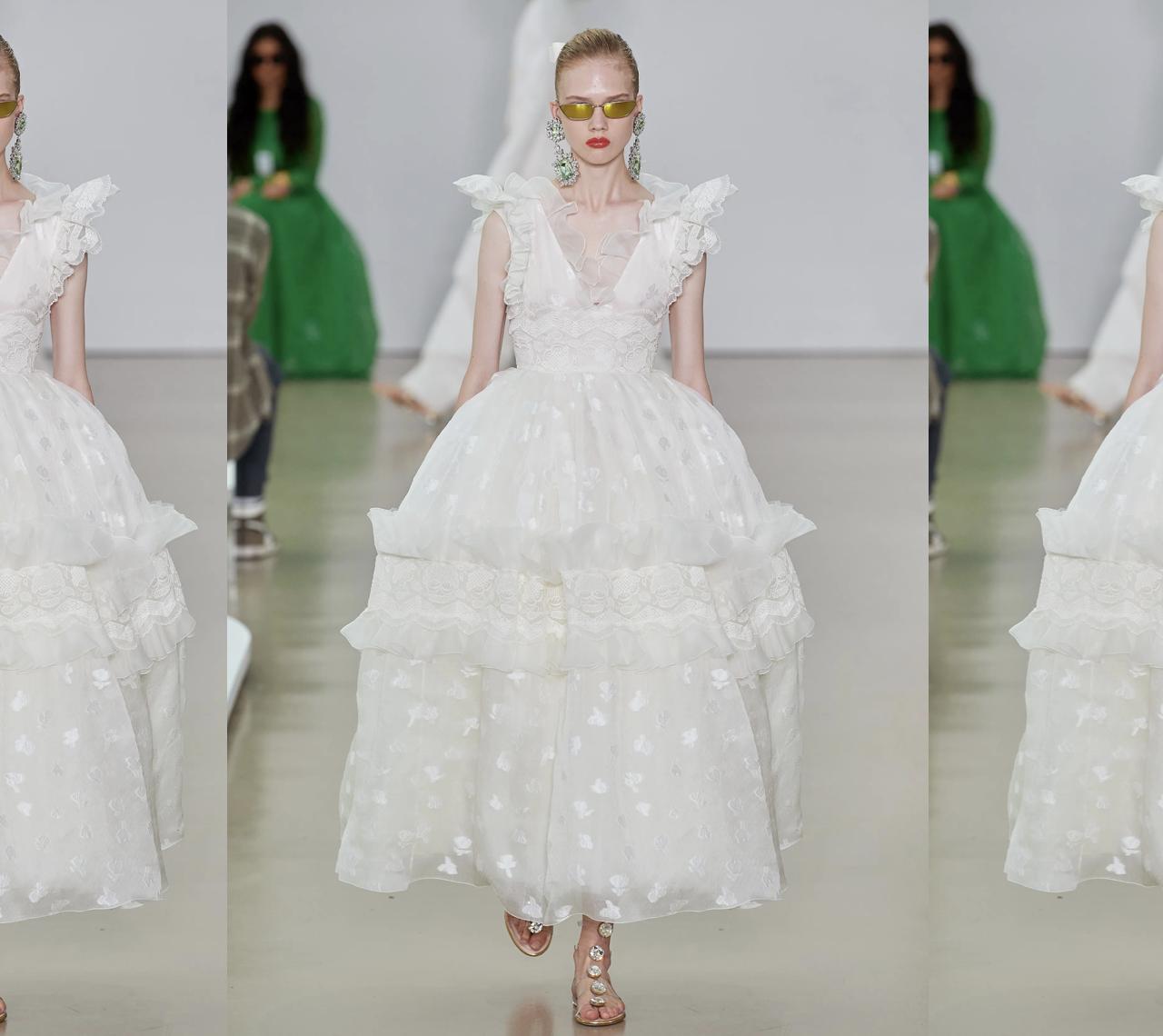 14 vestidos de novia de la colección Spring 2022 de Giambattista Valli