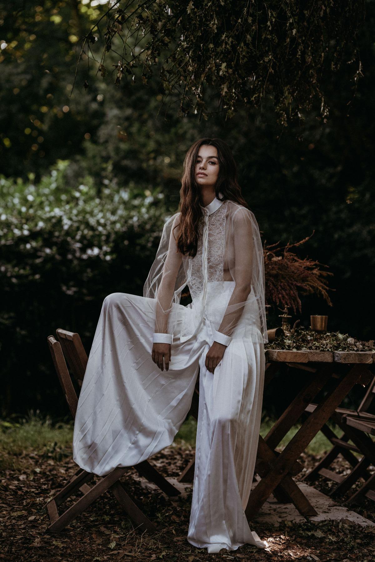 vestidos de novia veganos 2022, tendencias en vestidos de novia 2022 - sanyukta shrestha - wedding hub - 015